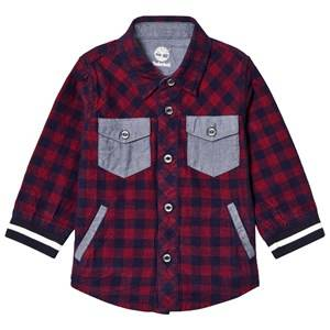 Timberland Boys Tops Red Red Check Shirt