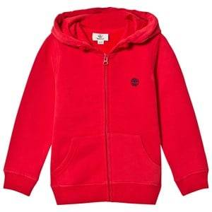 Timberland Boys Jumpers and knitwear Red Red Tree Logo Hoody