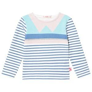 Billieblush Girls Tops Blue Blue/Pink Geometric Tee