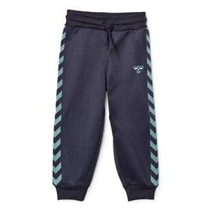 hummelkids Boys Bottoms Lukas Pants Blue Nights