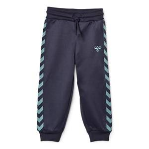 hummelkids Boys Bottoms Blue Lukas Pants Blue Nights