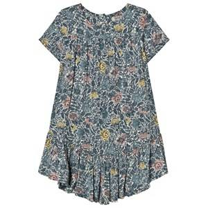 Wheat Girls Dresses Navy Dress Noemi Midnight Navy