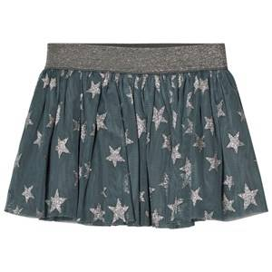 Stella McCartney Kids Girls Skirts Blue Blue Stars Print Hone Skirt
