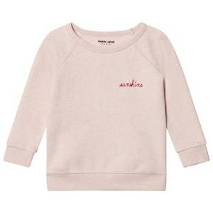 Maison Labiche Girls Jumpers and knitwear Pink Sunshine Embroidered Sweatshirt Pink