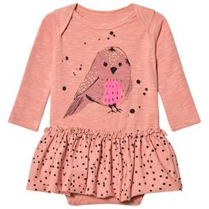 Soft Gallery Girls All in ones Pink Baby Body Sparrow Rose Dawn