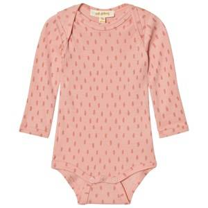 Soft Gallery Girls All in ones Pink Baby Body Bob Wool Dusty Pink