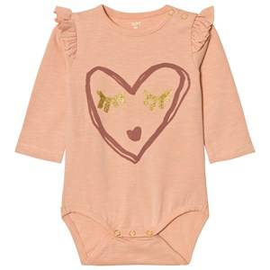 Soft Gallery Girls All in ones Pink Baby Body Fifi Dusty Pink