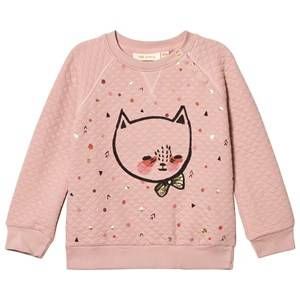 Soft Gallery Girls Jumpers and knitwear Pink Alexi Sweatshirt Misty Rose