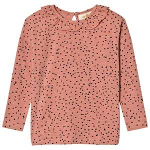 Soft Gallery Girls Tops Pink Liana Long Sleeve Tee Rose Dawn