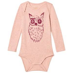 Soft Gallery Girls All in ones Pink Body Body Big Owl Salmon Apricot