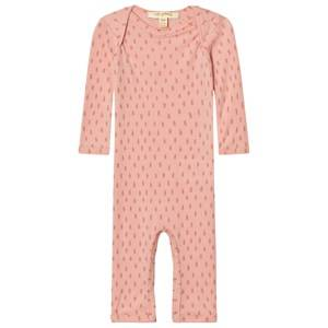 Soft Gallery Girls All in ones Pink Baby One-Piece Wool Dusty Pink