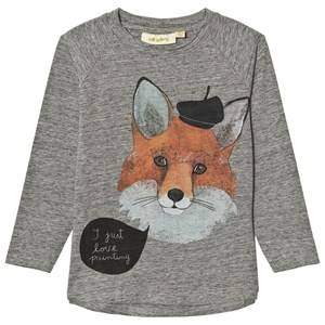 Soft Gallery Unisex Tops Grey Viggo Tee Frenchfox Grey Melange