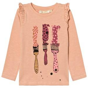 Soft Gallery Girls Tops Pink Maddy Long Sleeve Tee Dusty Pink