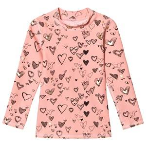 Soft Gallery Girls Tops Pink Astin Sun Shirt Coral Almond