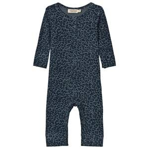 MarMar Copenhagen Unisex All in ones Blue Leo One-Piece Stormy Blue Leo