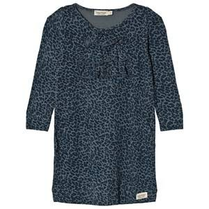 MarMar Copenhagen Girls Dresses Blue Leo Donna Dress Stormy Blue Leo