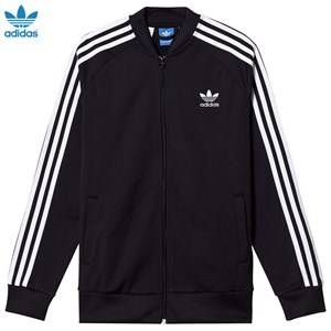 adidas Originals Boys Coats and jackets Black Black Junior Track Top