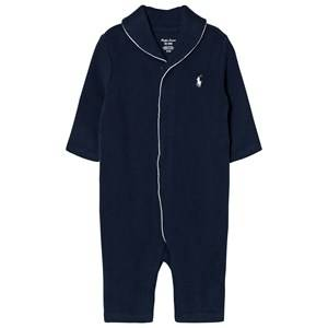 Ralph Lauren Boys All in ones Navy Onesie Summer Navy