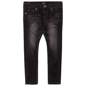 Pepe Jeans Boys Bottoms Grey Grey Wash Finlay Skinny Jeans