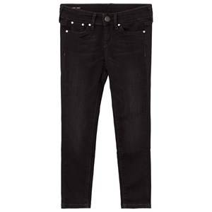 Pepe Jeans Girls Bottoms Black Black Washed Pixelette Skinny Jeans