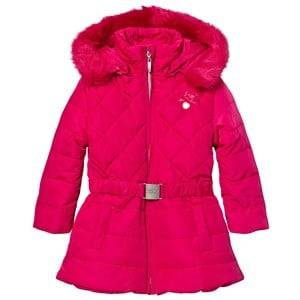 Le Chic Girls Coats and jackets Pink Pink Long Jacket with Buckle