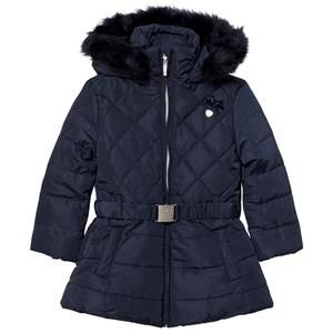 Le Chic Girls Coats and jackets Navy Navy Long Jacket with Buckle