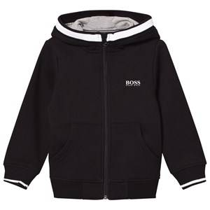 Boss Boys Jumpers and knitwear Black Black Branded Hoodie