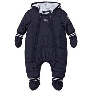 Boss Boys Coveralls Navy Navy Padded Snowsuit
