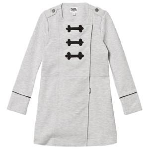 Karl Lagerfeld Kids Girls Dresses Grey Grey Marl Sweat Dress