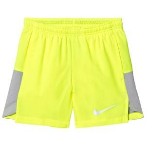 NIKE Boys Shorts Yellow 6 Inch Running Shorts Volt