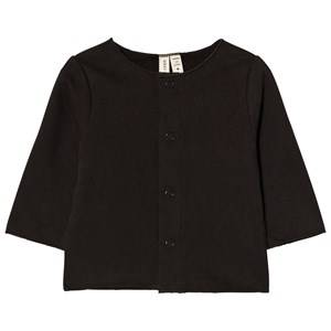 Gray Label Unisex Jumpers and knitwear Black Baby Cardigan Nearly Black