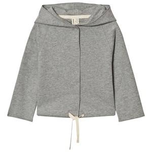 Gray Label Unisex Jumpers and knitwear Grey Hooded Cardigan Grey Melange