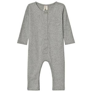 Gray Label Unisex All in ones Grey Long Sleeve Playsuit Grey Melange