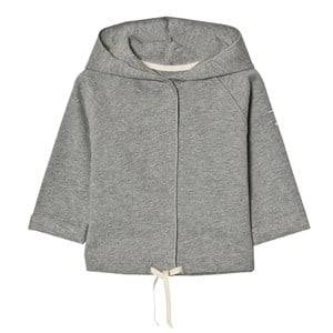 Gray Label Unisex Jumpers and knitwear Grey Baby Hooded Cardigan Grey Melange