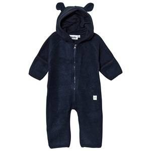 Molo Unisex Fleeces Blue Umeko One-Piece Total Eclipse