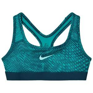 NIKE Girls Underwear Green Green Classic Training Sports Bra