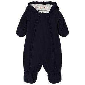 Petit Bateau Unisex Childrens Clothes Coveralls Blue Abysse Winter Coverall