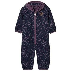 Hummel Girls Coveralls Navy Shan Coverall Purple