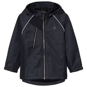 Hummel Unisex Coats and jackets Navy Nicco Softshell Jacket Dark Navy
