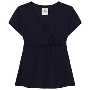Mom2Mom Girls Private Label Maternity tops Navy Glow Tee Navy
