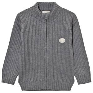Lillelam Unisex Jumpers and knitwear Grey Basic Jacket Grey
