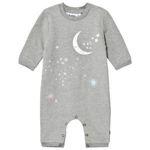 Molo Girls All in ones Grey Fifi Baby Body Grey Melange