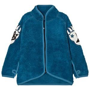 Molo Unisex Fleeces Blue Ulan Fleece Jacket Latitude