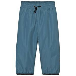 Molo Unisex Bottoms Blue Wild Rain Pants Bluestone