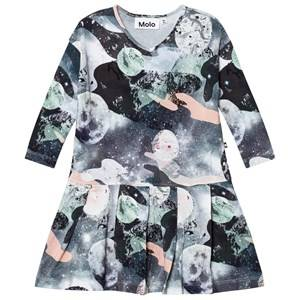 Molo Girls Dresses Blue Cillie Dress Star Gazer