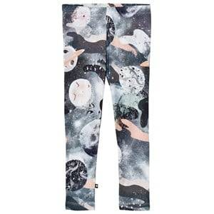 Molo Girls Bottoms Pink Niki Leggings Star Gazer