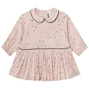 Molo Girls Dresses Pink Crystala Dress Rose Stargazer