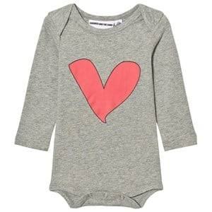 Gardner and the gang Unisex All in ones Grey The Romper Baby Body Grey