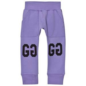 Gardner and the gang Girls Bottoms Purple Slouchy Pants Purple