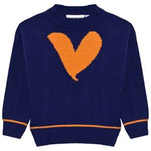 Gardner and the gang Unisex Jumpers and knitwear Blue Knitted Sweater Blue